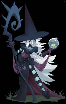 The witch of loneliness