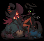 The witch of beasts