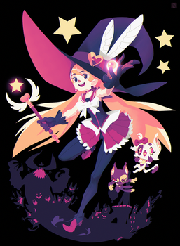 The magical witch