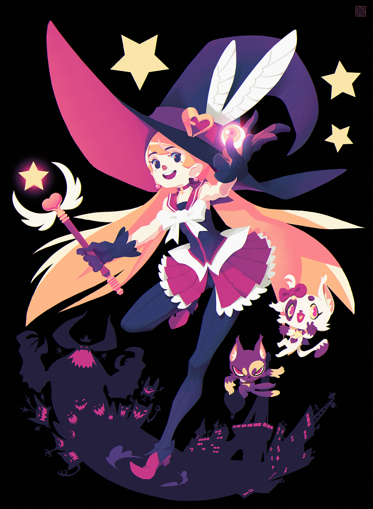 The magical witch by DeadSlug