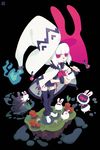The witch of bunnies