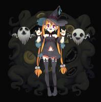 Spooky witch by DeadSlug