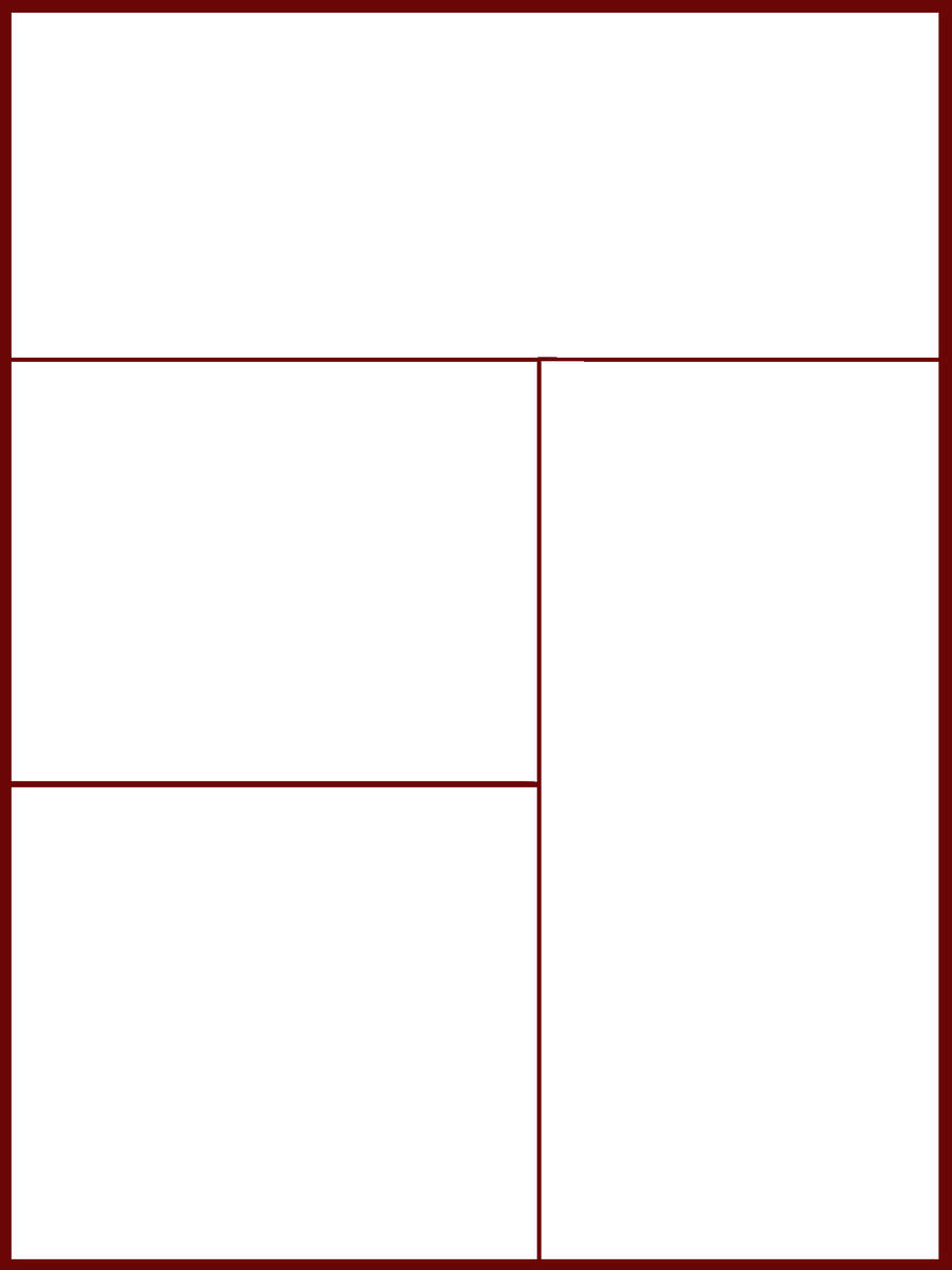 Comic-Manga Page Template 1 by PwNno0bS on DeviantArt