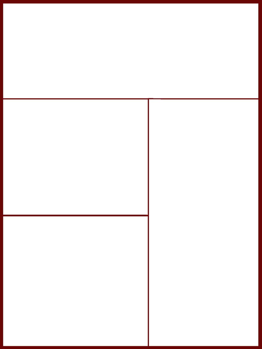 Pin Free Blank Comic Strips For Kids Empty on Pinterest
