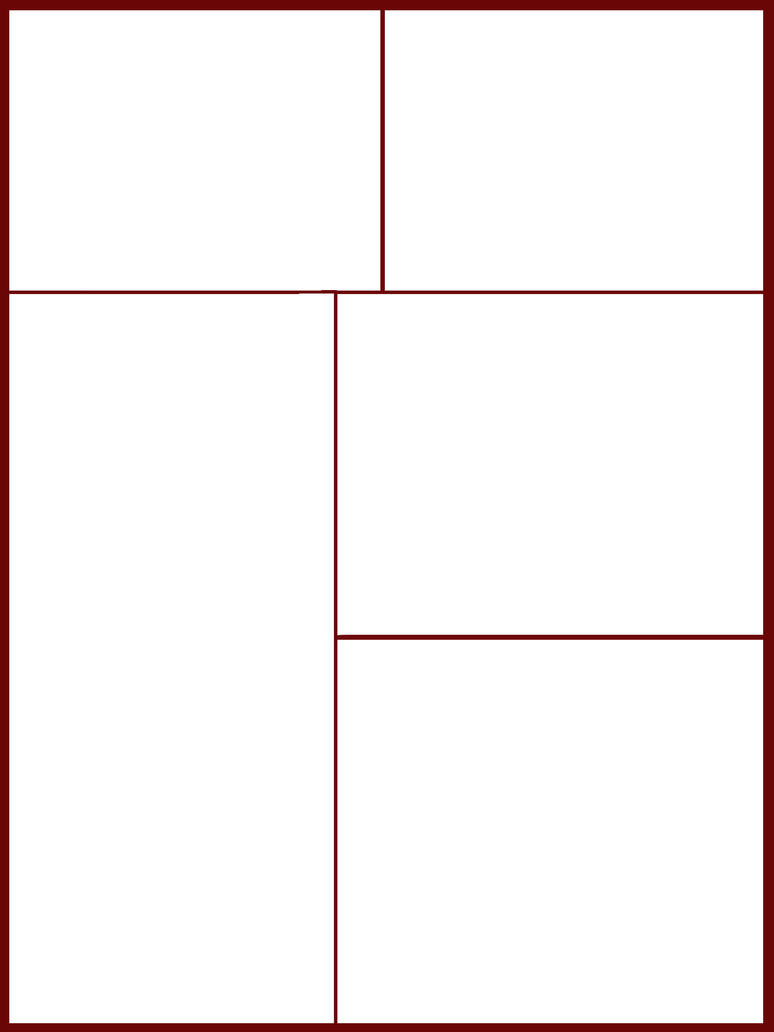Comic-Manga Page Template 2 by PwNno0bS on DeviantArt