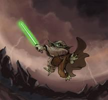 Master Yoda by Steel-Eyes