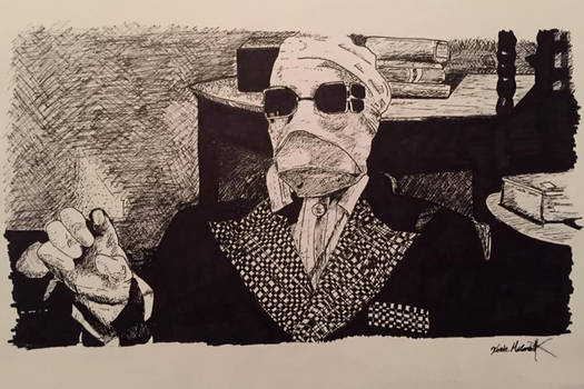 Invisible Man Illustration