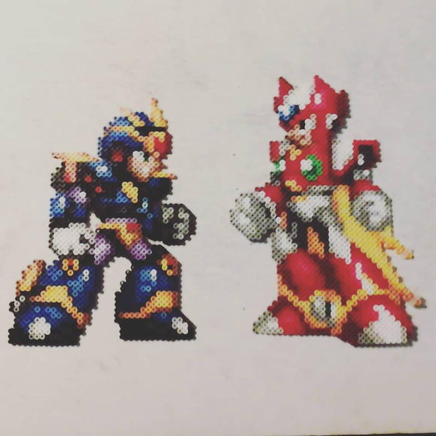 MegamanX and Zero2 by Sulley45635