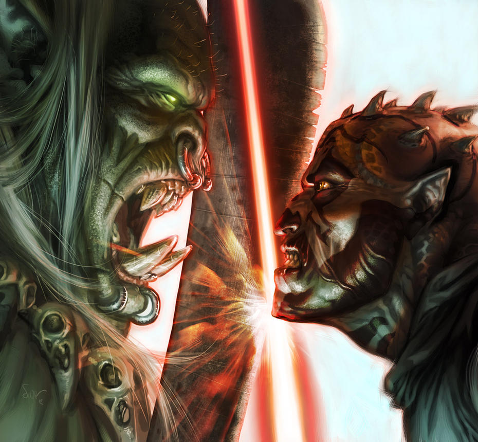 WoW Vs StarWars by NicolasSiner