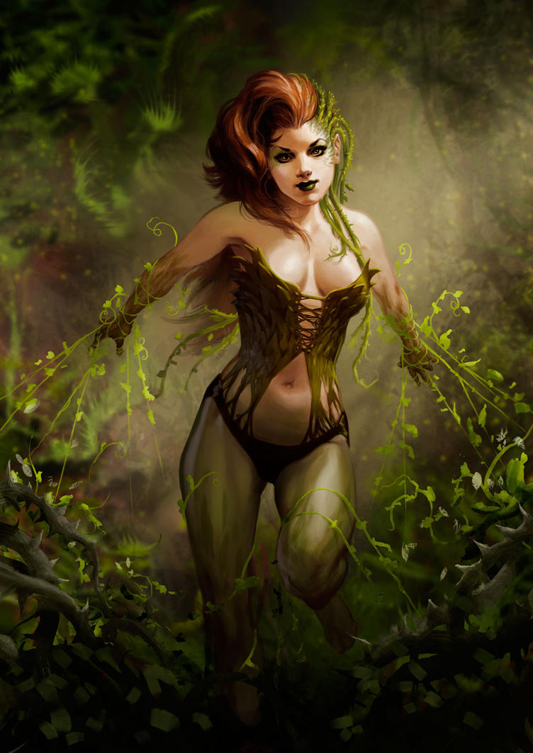 Poison Ivy by NicolasSiner