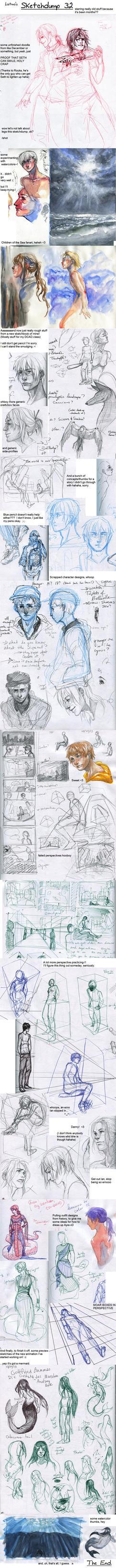Sketchdump 32 by Laitma