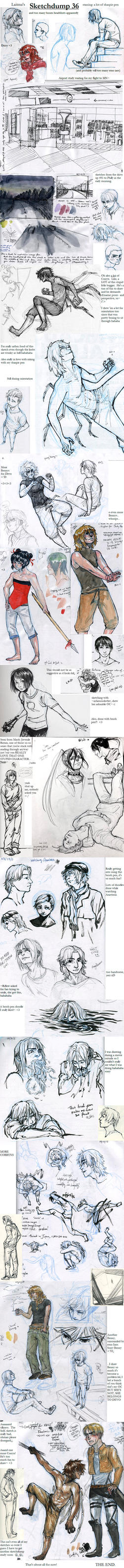 Sketchdump 36 by Laitma