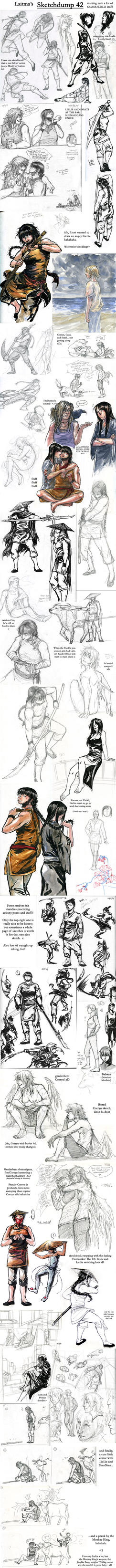 Sketchdump 42 by Laitma