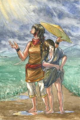 August - Summer Thunderstorms