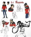 Li NeZha - Character Design