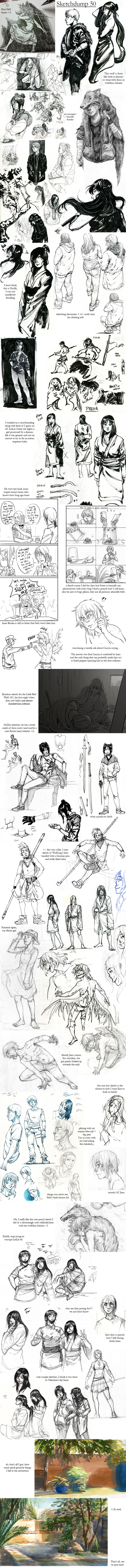 Sketchdump 50 by Laitma