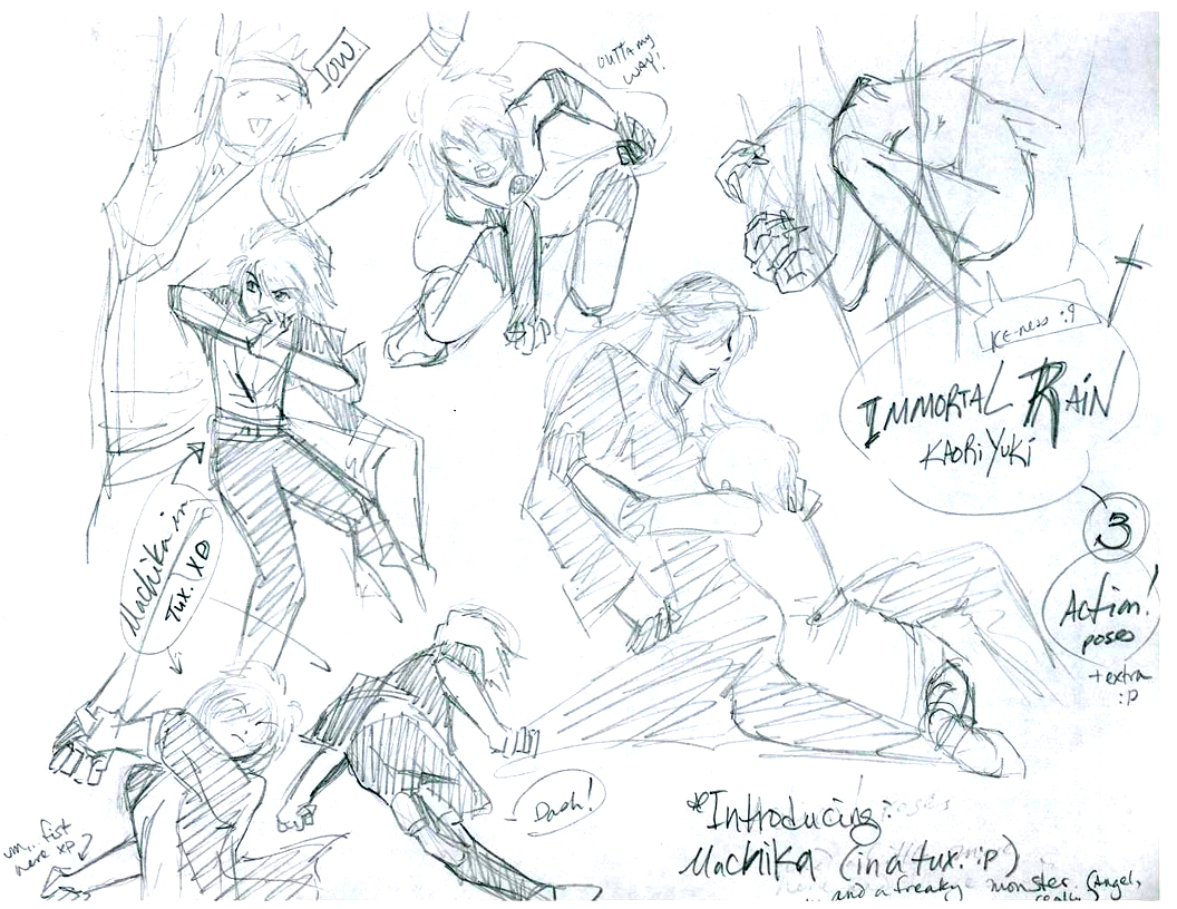 Immortal Rain- Action Poses 03 by Laitma on DeviantArt