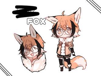 ?? fox (OC) by Fumi03