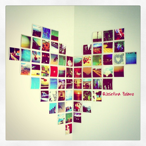 Wall Art Heart Collage : Wall collage by josefina on deviantart