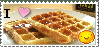 I love waffles stamp by Umbrella34