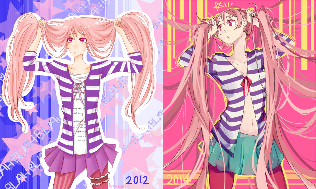 2012 to 2014 by Pottetto