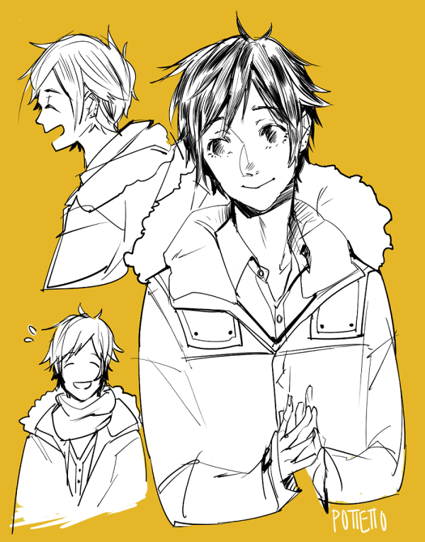 Miyamura doodle by Pottetto