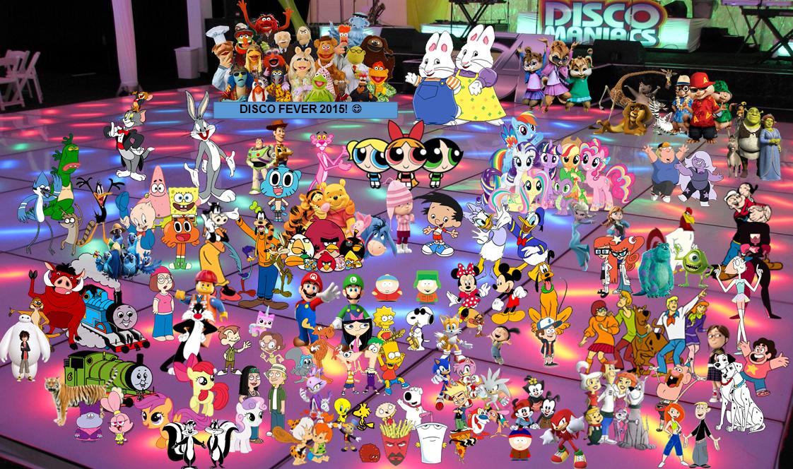 Cartoon characters deviantart
