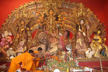 Durga Pooja - Kolkata by ammygrayson4