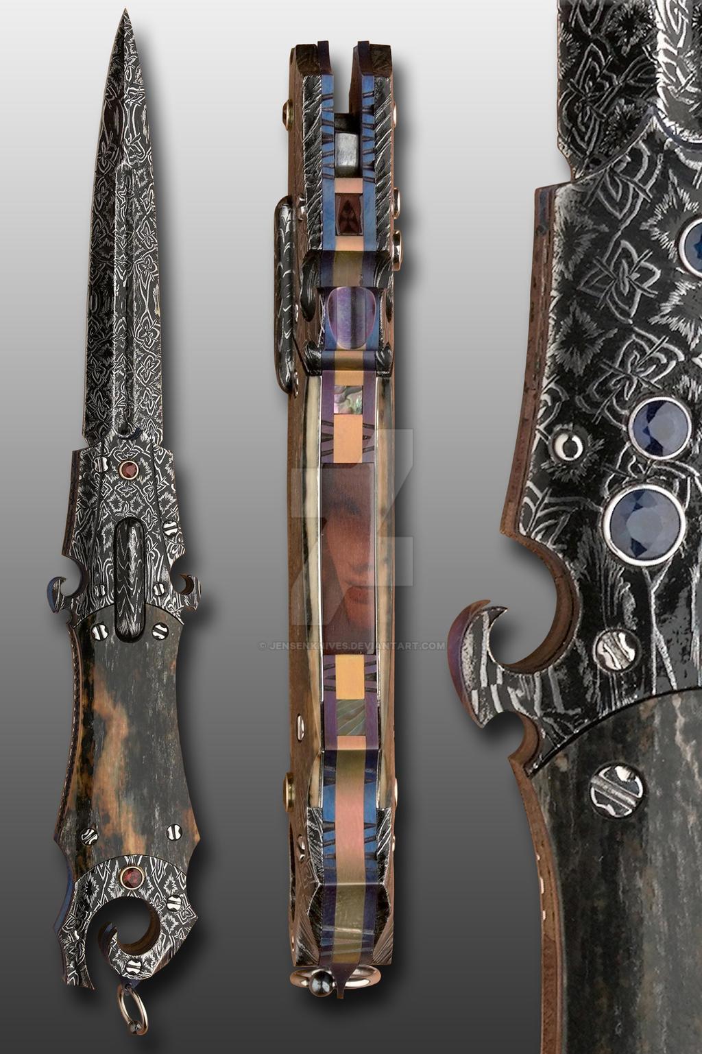 Violin-Shrine by JensenKnives