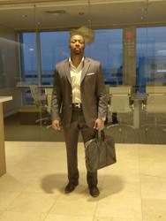 Vaughn Bell Businessman Male Model in Office Space