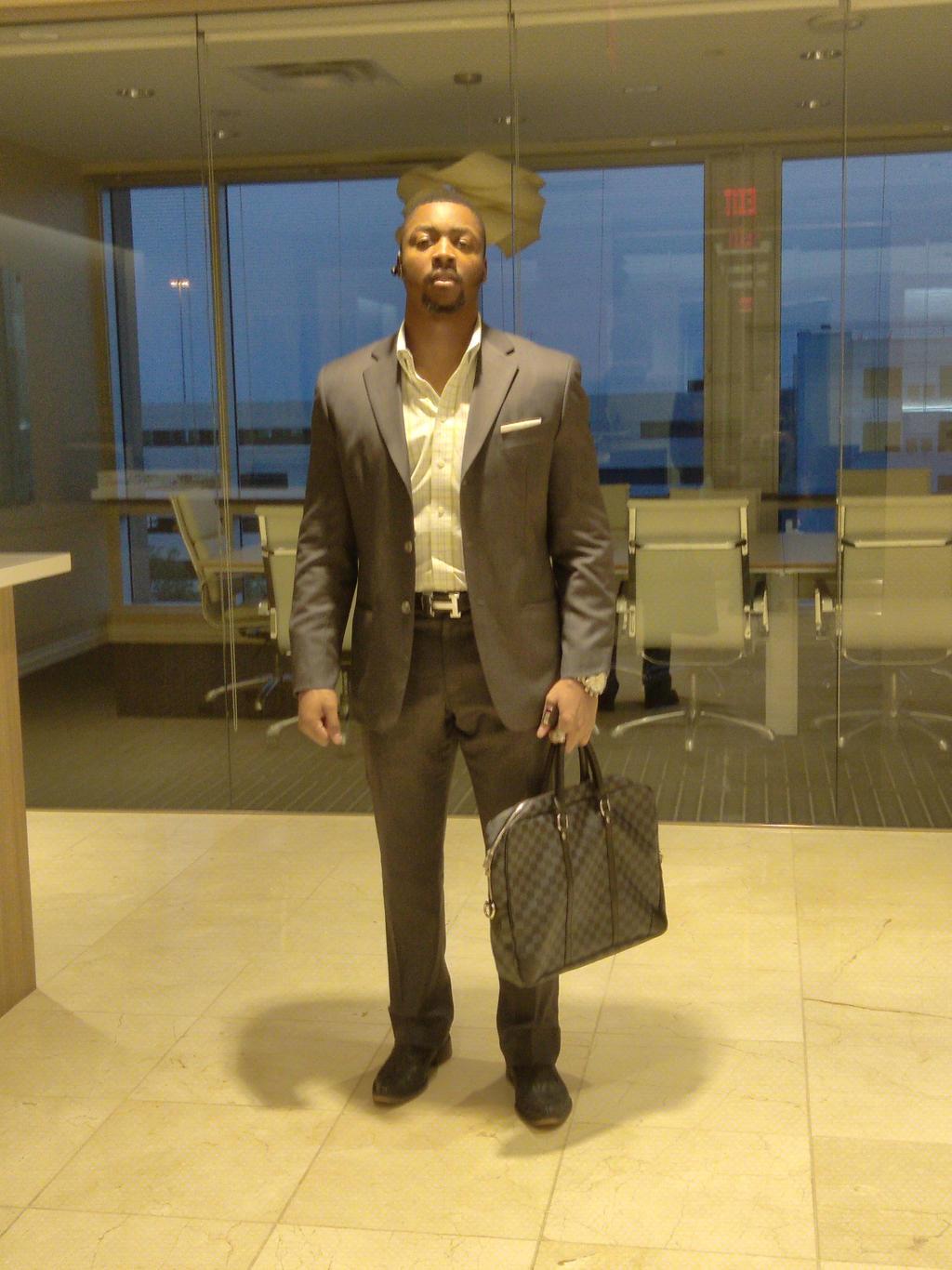 Vaughn Bell Businessman Male Model in Office Space by dm25bell