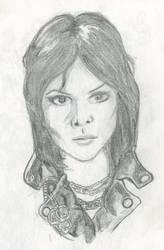 Sketch Joan Jett