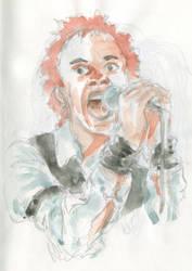 Sketch Johnny Rotten