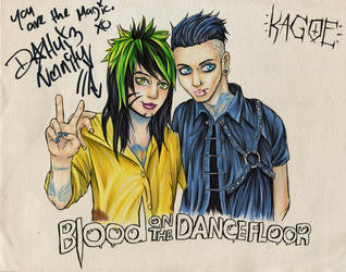 Blood On The Dance Floor : BOTDF