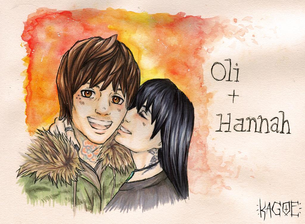 Oli Sykes + Hannah Snowdon by Kagoe