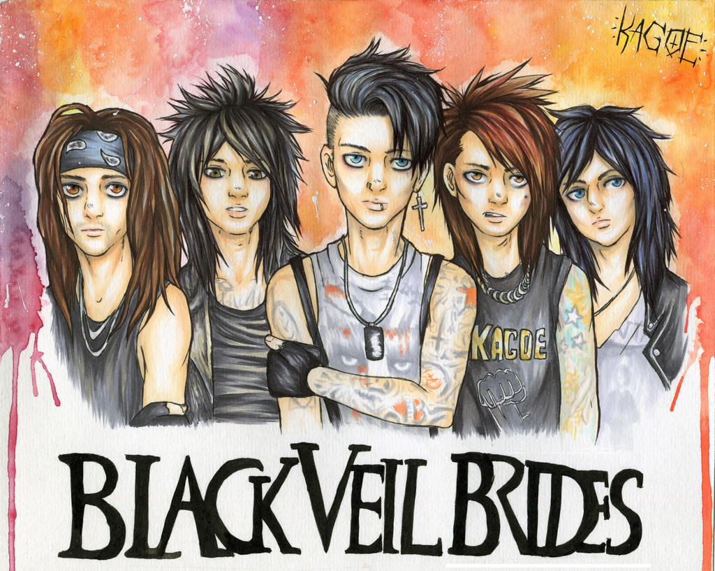 Black Veil Brides by Kagoe