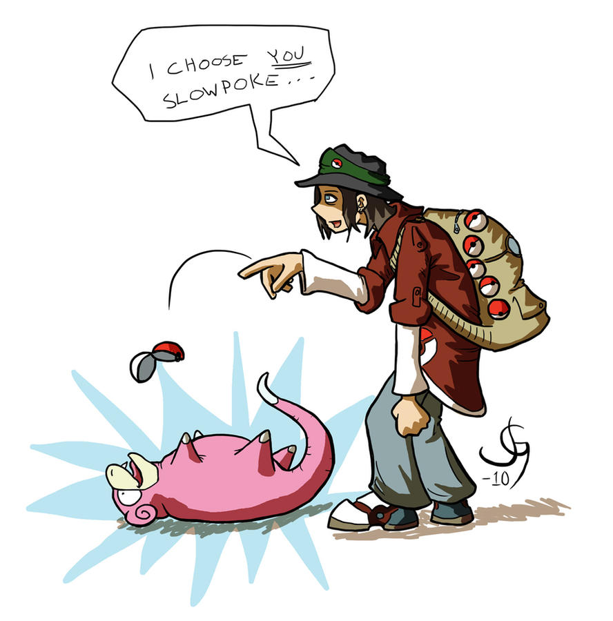 Slowpoke by wizzrobe