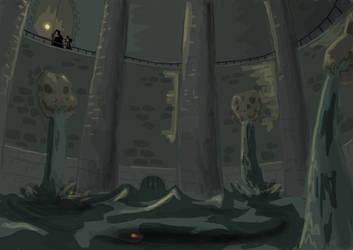 Inside the Swamp Shrine by wizzrobe