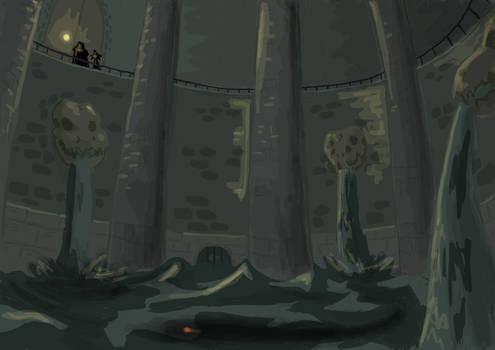 Inside the Swamp Shrine