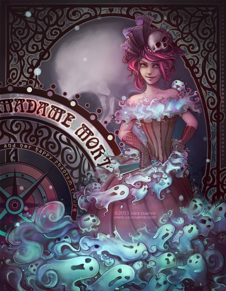 Madame Mort by SaraCuervo