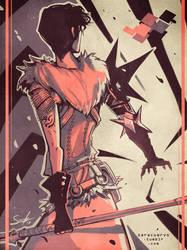 Marian Hawke [palette challenge]