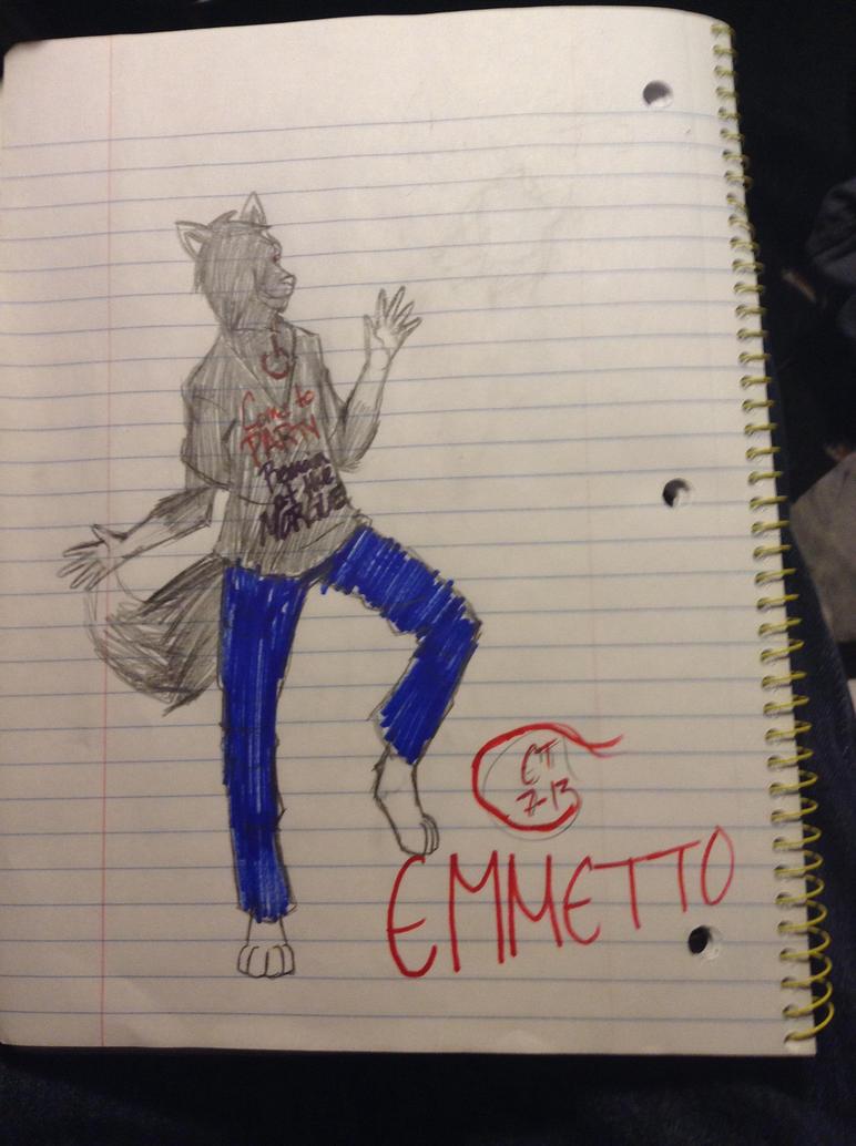Emmetto by wolfthe19tailedwolf