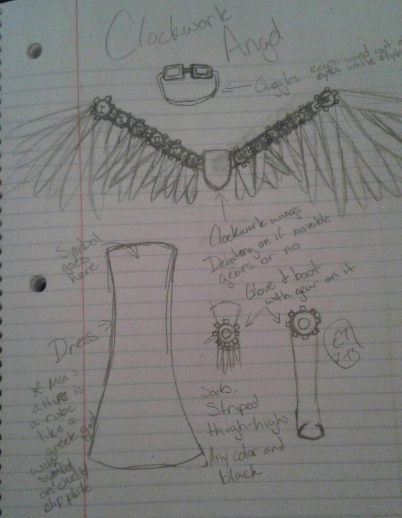 Clockwork Angels Cosplay design by ET7-13ArtStudio