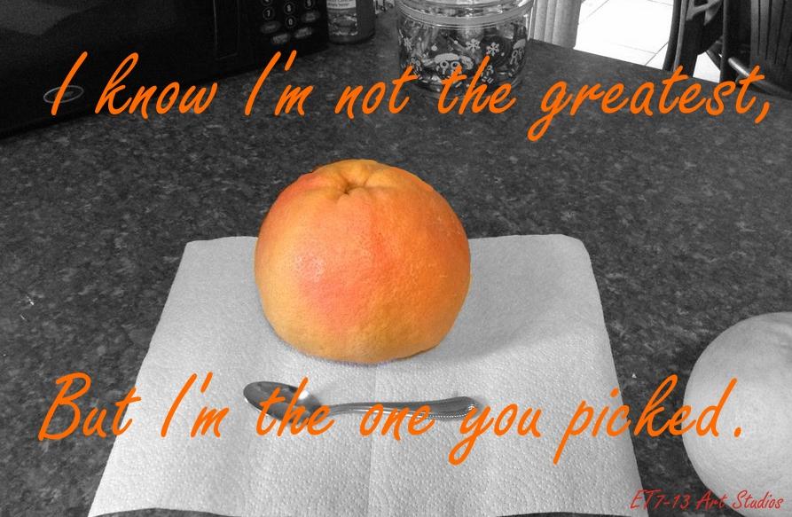 Grapefruit II by ET7-13ArtStudio