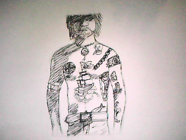 Edward Kenway tattoo video by ThatStrangeGirlGemma on ...