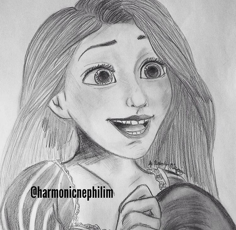 Rapunzel by kirstenmarquisart