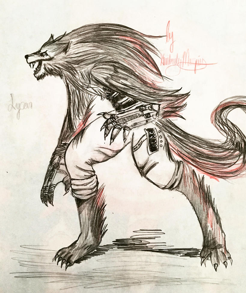 Lycan by kirstenmarquisart