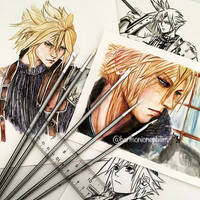 Many Faces of Cloud by kirstenmarquisart