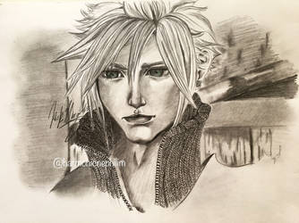 Happy Birthday Cloud Strife by kirstenmarquisart