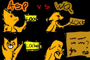 ASP vs WQ by SparklesWolf